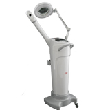 ozone facial steamer micro mist with mag lamp and vacuu - mychway