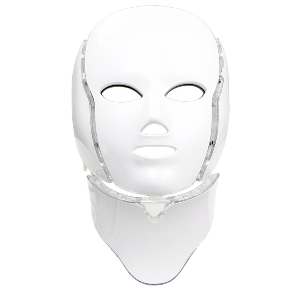 skin photon rejuvenation led light facial neck mask acne. Black Bedroom Furniture Sets. Home Design Ideas