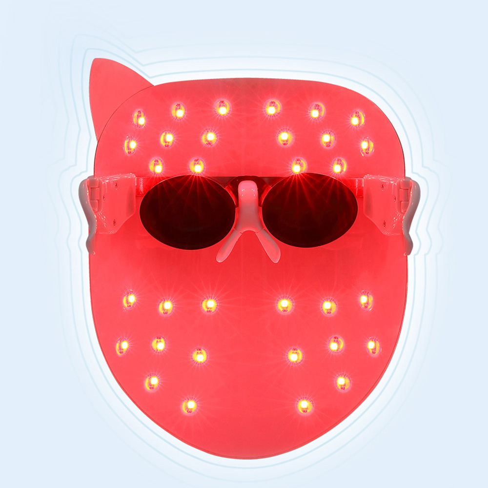 skin tightening led photon therapy mask wrinkle acne. Black Bedroom Furniture Sets. Home Design Ideas