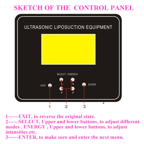 Ultrasonic Liposuction Equipment Cavitation Beauty Equipment