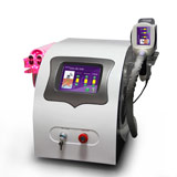 5in1  cooling  vacuum fat dissolve 40khz cavitation rf lipolaser slim machine