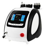 4in1 40khz cavitation sixpolar tripolar bipolar rf led slimming machine