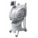 two handle piece shr opt hair removal beauty body care machine