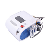 new 3 in 1 hydro microdermabrasion+micro current+ hot/cold facial care machine