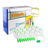 18 pc/set chinese vacuum cupping therapy body massage anti cellulite vacuum cup