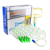 24 pc/set chinese vacuum cupping therapy body massage anti cellulite vacuum cup