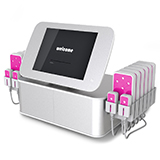 12 big 4 small pad 160mw diode lipo laser lypolysis weight loss fat loss machine