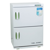 2 layers heated towel warmer sterilizer cabinet + uv disinfection cabinet 46a