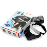 led head lights headlamp with magnifying glass head light lamp magnifying glass