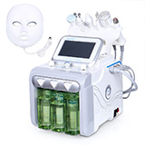 hydra dermabrasion+ oxygen spray+bio +ultrasonic +rf+skin scrub +led photon mask