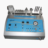 new 4in1 ultrasound  skin lift frozen therapy diamond microdermabrasion machine