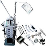 19 in 1 multi-functional dermabrasion ultrasonic bio vacuum body beauty machine