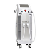 2 opt handpieces ipl + rf skin rejuvenation machine hair pigment removal qj330t