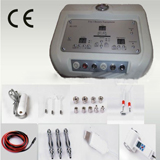 microdermabrasion galvanic high-frequency scrubber cold hot hammer beauty device