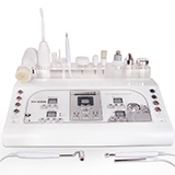 8in1 ultrasonic massage mole removal high frequency machine skin lifting cleaner