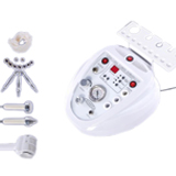 3 in 1 diamond dermabrasion beauty machine with ultrasonic cold & hot treatment