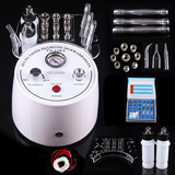 3 in 1 diamond microdermabrasion vacuum spray  peeling skin care beauty machine