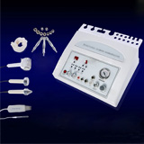 4in1 ultrasonic diamond dermabrasion cold&hot treatment  skin scrubber  machine
