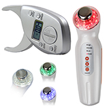 ultrasonic led light photon beauty skin care machine +digital 50mm 2inch weight