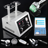 5in1 dermabrasion+ultrasound+photon+hot & cold hammer+skin scrubber+free gift