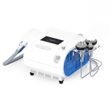 4 in 1 cooling  vacuum fat dissolve 40khz cavitation body face rf machine