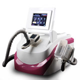 portable cold operatio photon led light roller bipolar rf vacuum massage machine