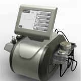 6 in 1 40k cavitation three pole multipolar bipolar rf vacuum slimming machine