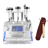 bipolar rf ultrasonic cavitation vacuum fat slimming beauty machine + free gift