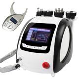 5in1cavitation ultrasonic+lipo laser+vacuum+sextupolar tripolar bipolar rf+gift